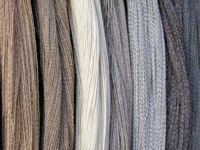 coloured alpaca wool