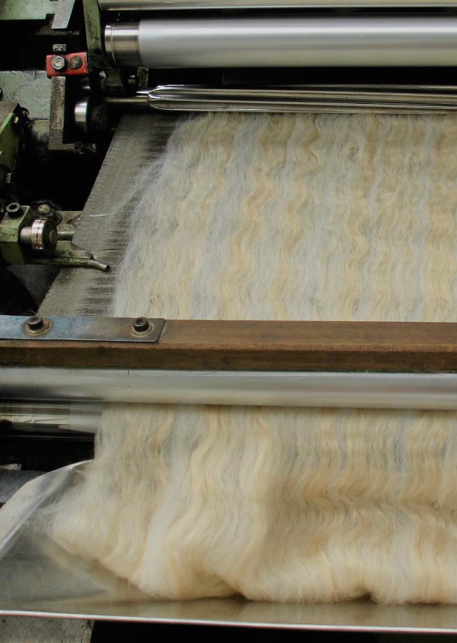 silk combing